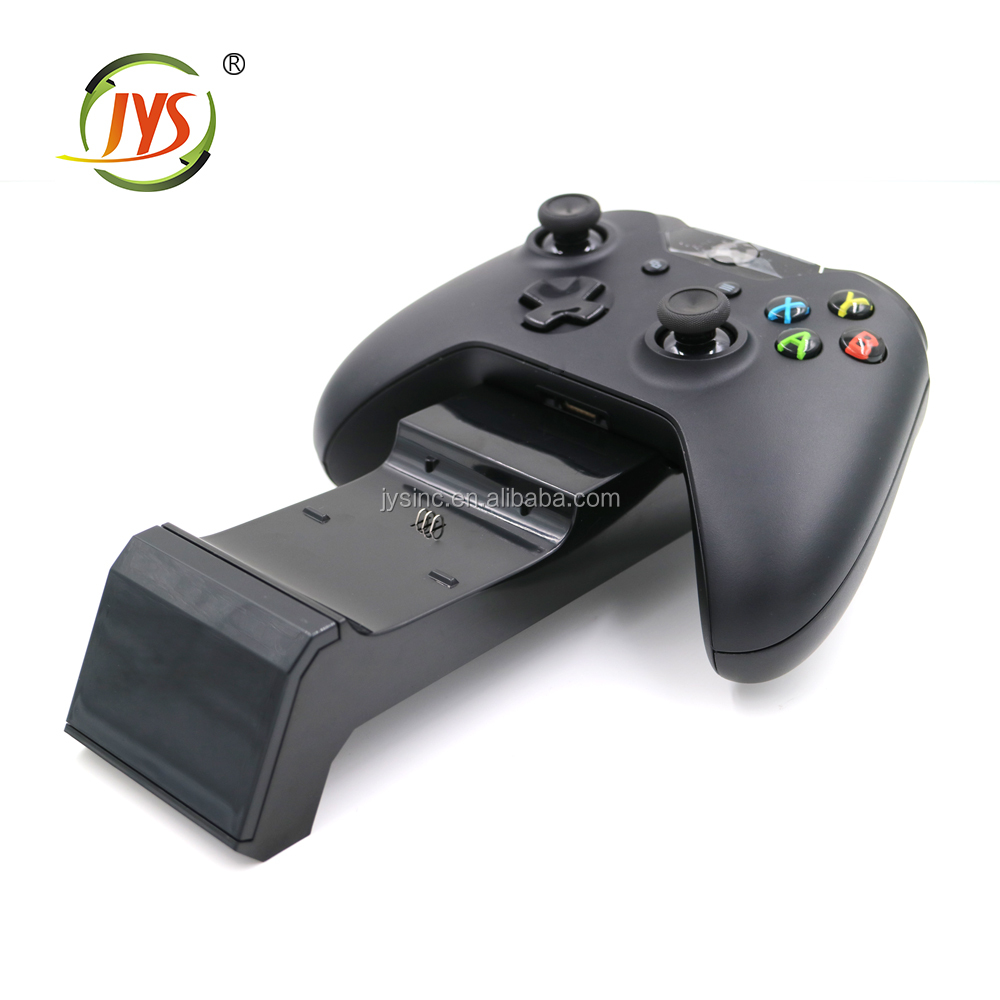 For xbox one S Game Controller Charger USB Charging Dock with two rechargeable NIMH battery pack