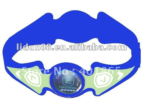 inspirational ion silicone bracelet for promotion items