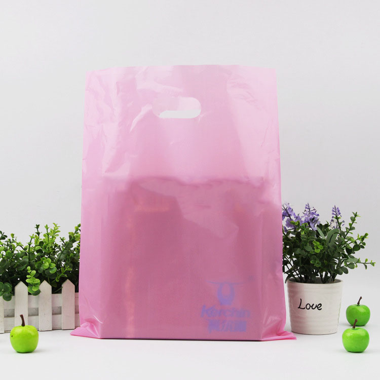 high quality custom printed pink mailer shopping bag for boutique selling