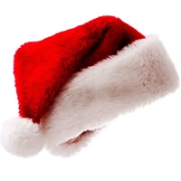 Cheap Promotional Party Red Party Hats Christmas Hat