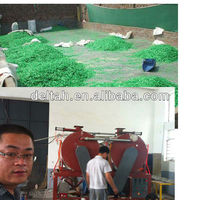 PET scraps crystallization and drying machine