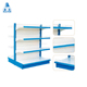 salable gondola shelving supermarket 5 layer metal bread display rack