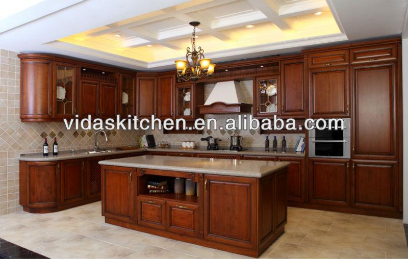 Muebles de cocina de madera maciza cocinas de madera cmo for Muebles de cocina de madera maciza catalogo