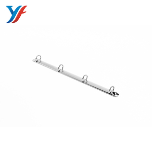 A4 size stationery metal mini loose-leaf clamp clip 4 d binder ring  mechanism for office and school document
