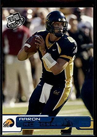 Aaron Rodgers 2005 Press Pass Blue #B9 Mint Football NFL