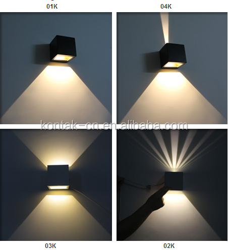 Wall Lamps 2700k 3000k Warm White Led Indoor Outdoor Wall Light Up ...