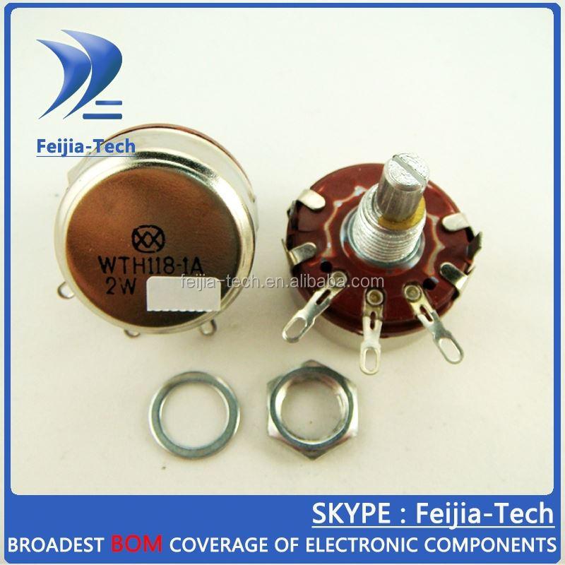 WTH118 WTH118-1A 2W 220K Linear Potentiometer