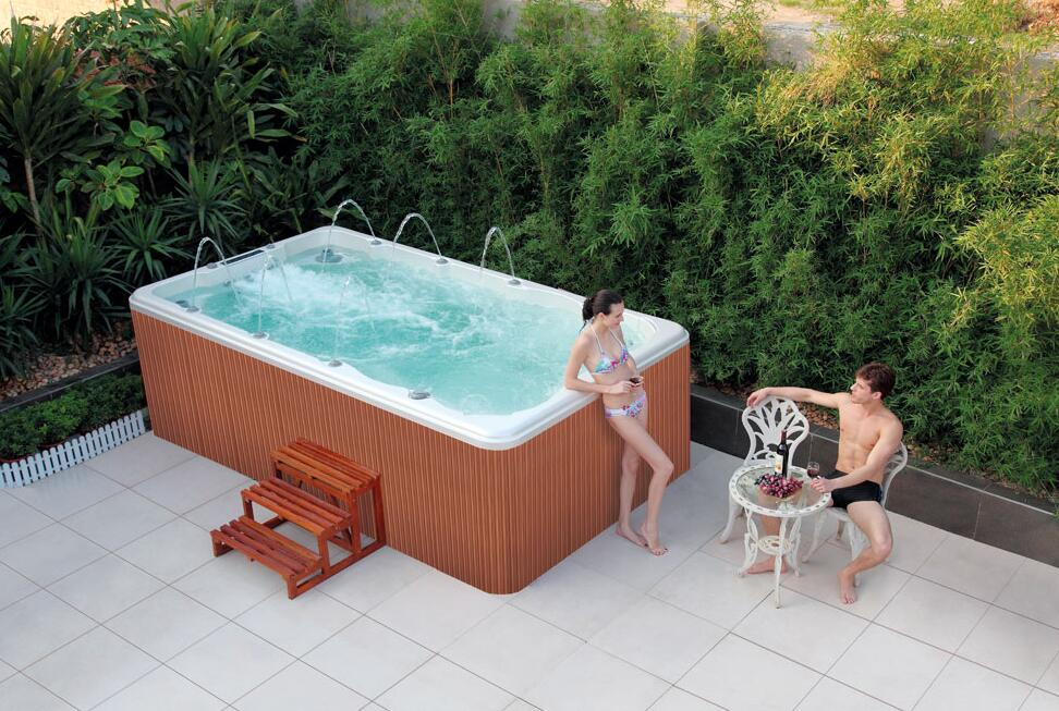 Outdoor Mini Jacuzzi.Backyard Acrylic Outdoor Mini Swimming Pool Spa Whirlpool Endless Pool View Endless Pool Cobuild Product Details From Foshan Cobuild Sanitary Co