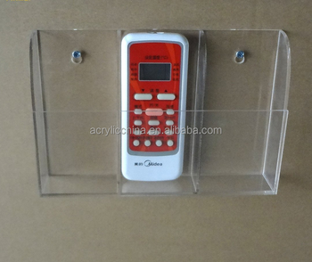 Hotel Wall Mount Remote Control Acrylic Holder Buy Remote Control