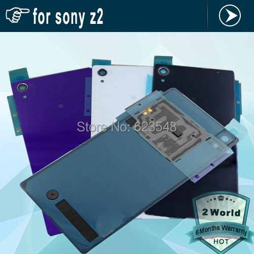 Корпус задняя крышка батарейного отсека чехол двери с NFC для Sony Xperia Z2 L50W D6503