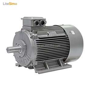 low noise high rpm small size 50kw ac motor