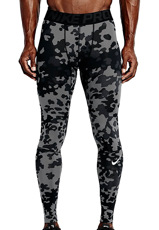 6e49ea3193ee5 Get Quotations · Nike Ambush Camo Men s Hyperwarm Compression Dri-Fit Tights  - Base Layer - Large -