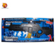 Pop real B/O spray gun flash toy gun with music and light
