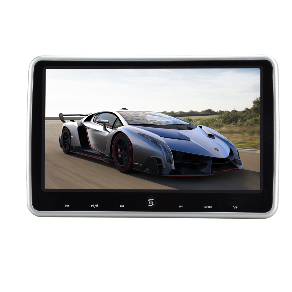 10.1''portable car video headrest dvd players hdmi input