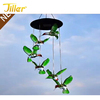 Color Changing LED Solar Hummingbirds Mobile Wind Chimes Outdoor Solar Powered LED Hanging Lamp Wind Chimes