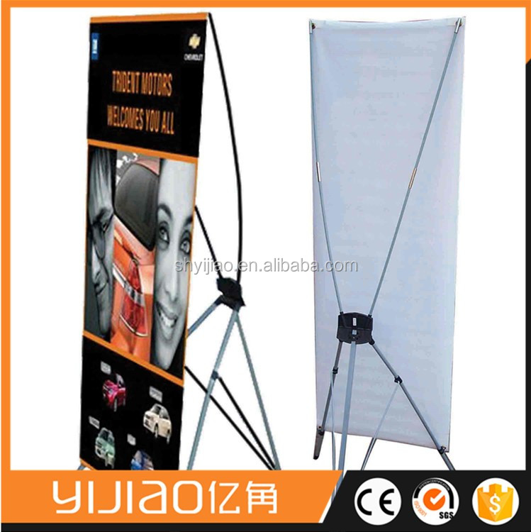 shopping X banner stand