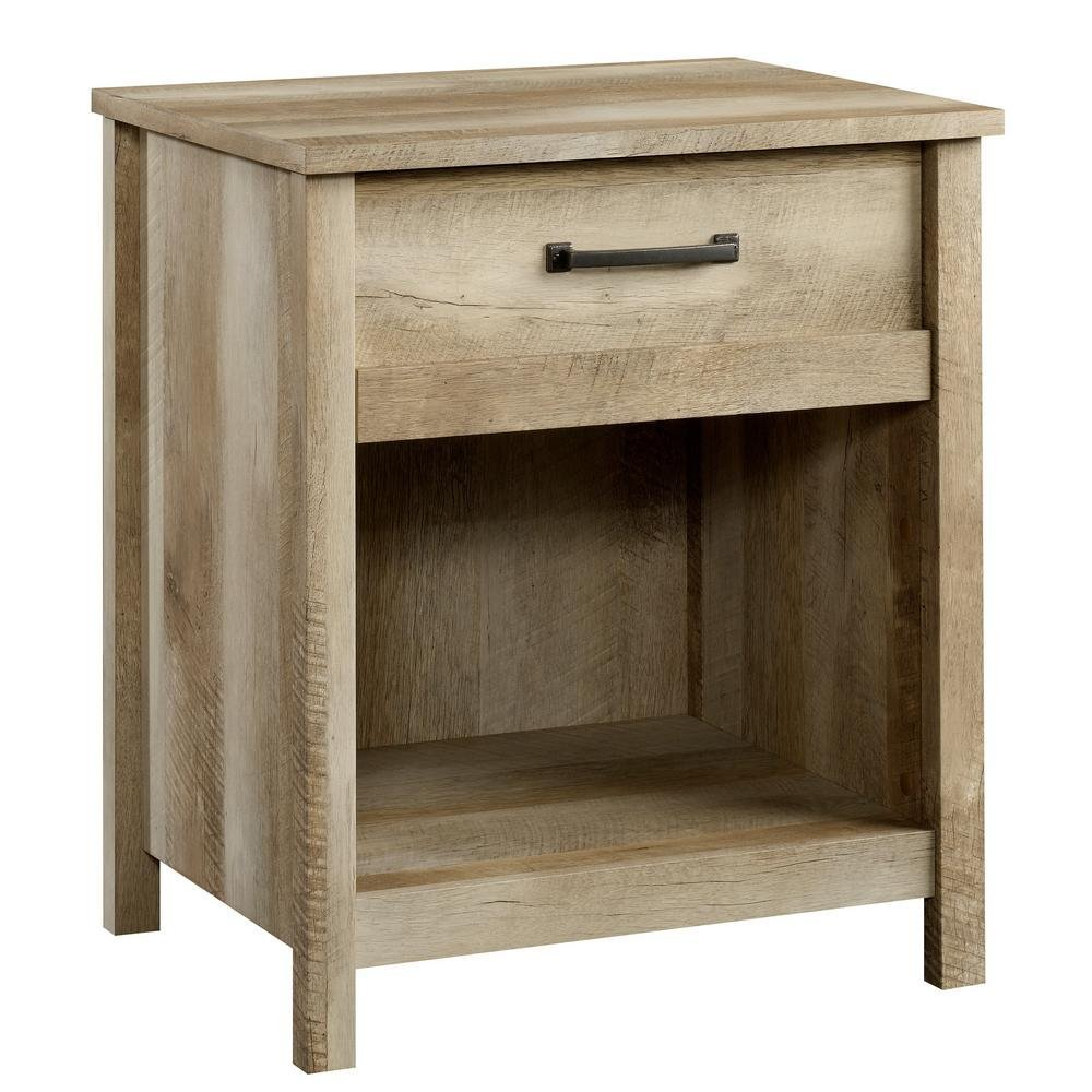 China fir Retro contracted Wood Furniture Night Stand
