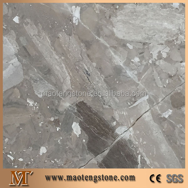 Hot Selling Natural Slabs Grey Fossil Marble