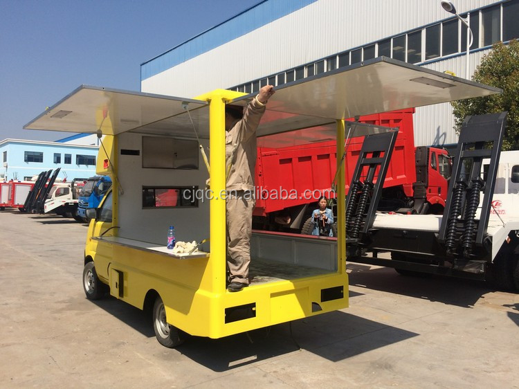 New Design Hot Sale Bottom Price Gasoline Type Mobile Mini Food Truckmobile Store