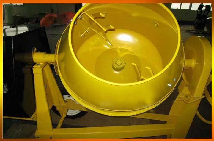 Low Price Cost Portable Concrete Pan Mixer Concrete Mixer