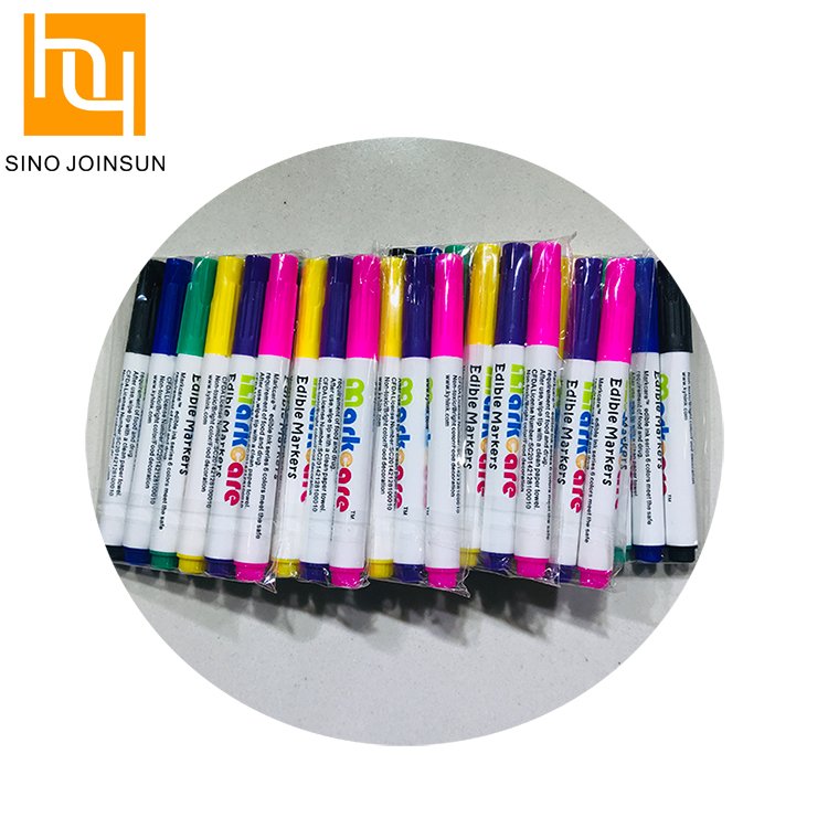 Food coloring edible writing pens supplier