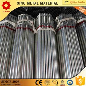 Hot selling tianjin good quality bs 1387 galvanized steel round pipe / gi tube / hot dipped galvanized steel pipe made in China