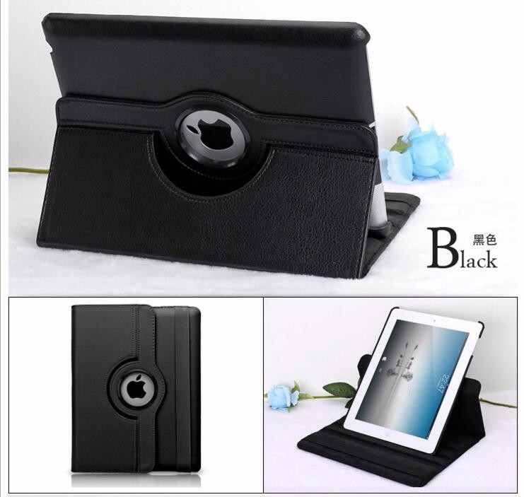 New Smart Case Cover 360 Rotating For Apple <strong>iPad</strong> 2 3 4 Air 5 6 Mini PU Leather