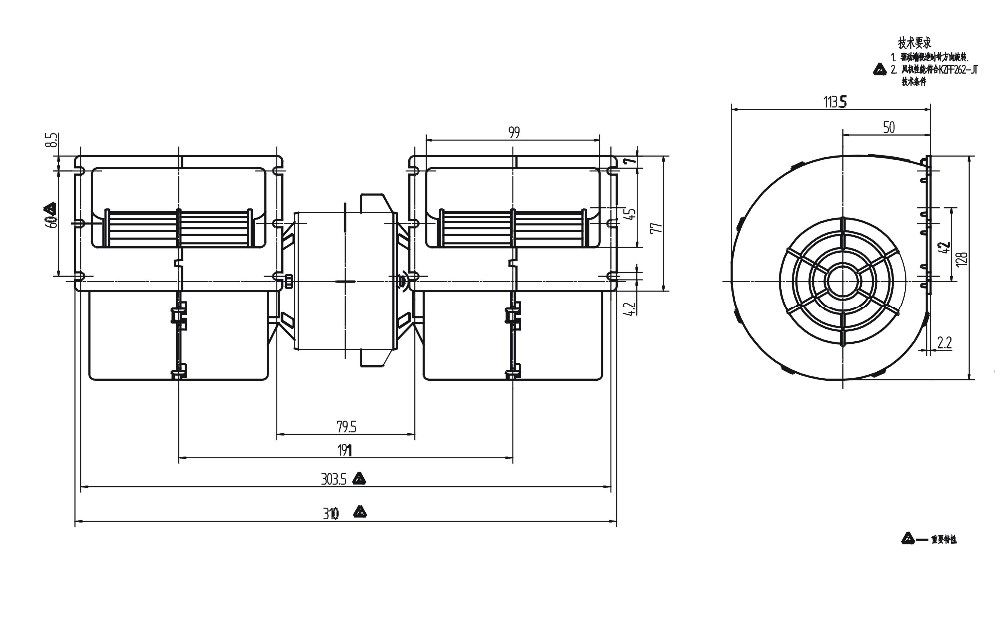 evaporator blower high quality blowers for bus a  c