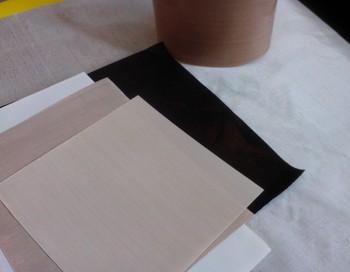 High quality heat resistant ptfe fabric teflon ptfe for Is fiberglass heat resistant