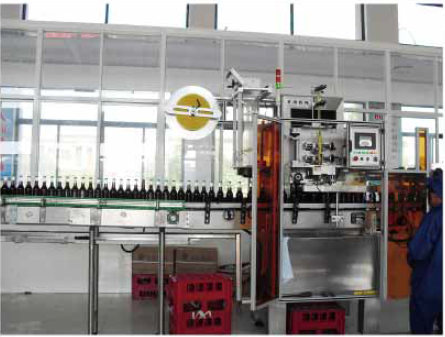 HTB - 350P2 new hot sale Best Price Cheap Full Automatic High Speed 10000 BPH Heat Shrink Sleeve Label Machine for Bottles