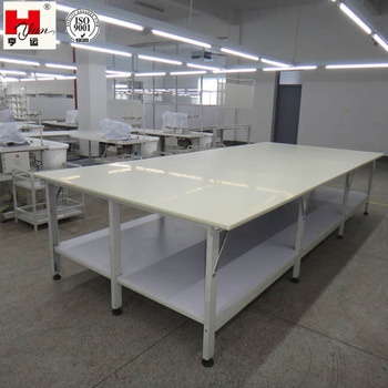 Industrial Work Tables Fabric Rolls Packing Working Table