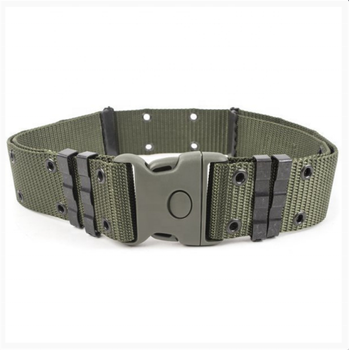 Custom Professional Design Plastic Buckle Black Tactical Military Security Nylon Belt for Army