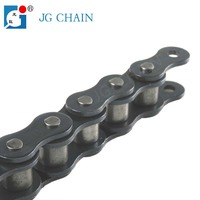 16A made in china iso standard alloy steel industrial driving roller chain 80-1