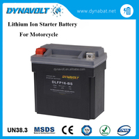 China manufacturer Dynavolt rechargeable high rate lithium battery for motorcycle