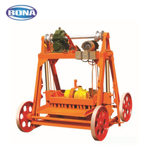 Small scale construction equipment small clay brick making machine price