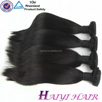 Cheap price good quality no split end full and thick cambodian real virgin hair