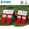 Christmas Gift Anti-slip Pet Shoe Socks Dog Shoes Pattern