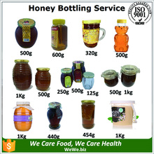 Bottling Service Lemon flavored Organic Raw Acacia Honey Factory Shipping