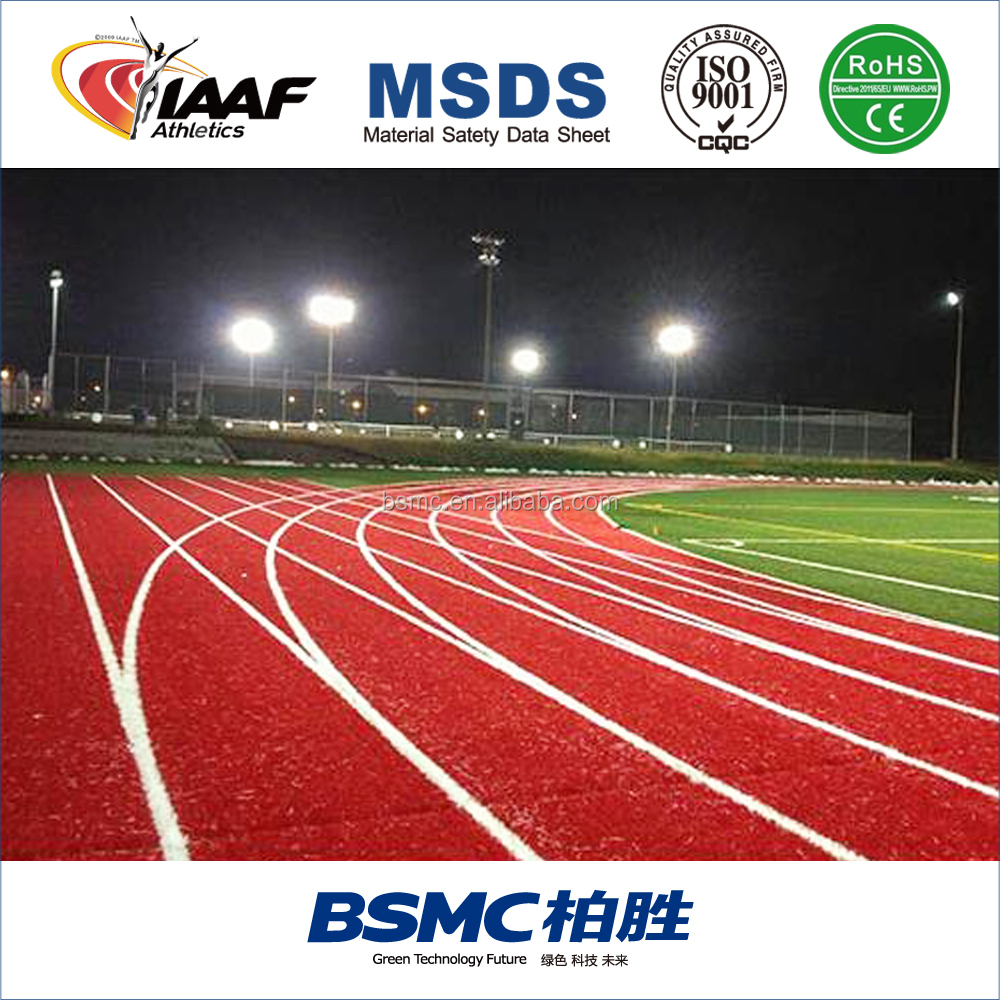 Manufacturer Direct Sale Sandwich Synthetic EPDM Race Track for Stadium&School