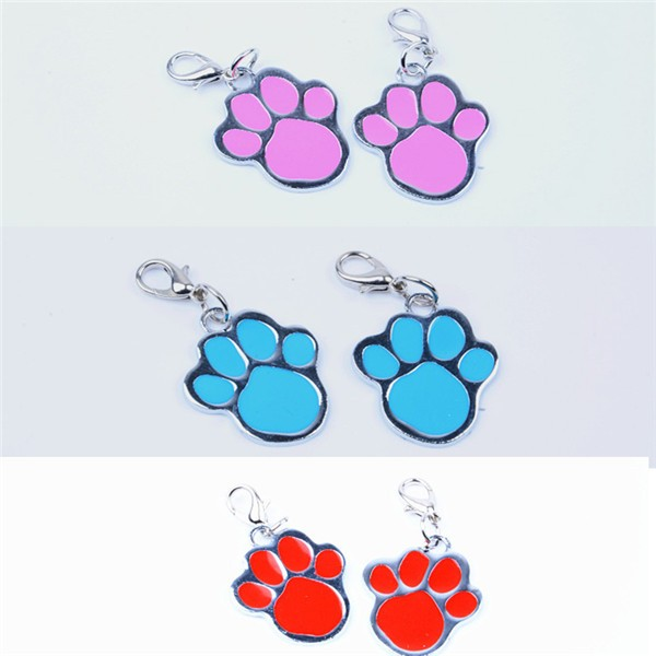 Hot sale sublimation metal colorful lovely pet dog tag