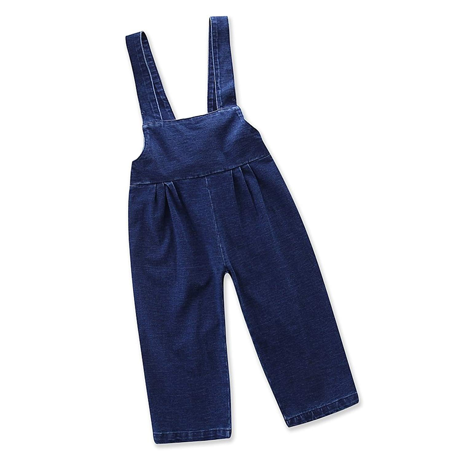 Samgami Baby Girls Daily Clothes Denim Suspenders Baby Infants Toddlers Jumpsuit Kids Jeans Clothing