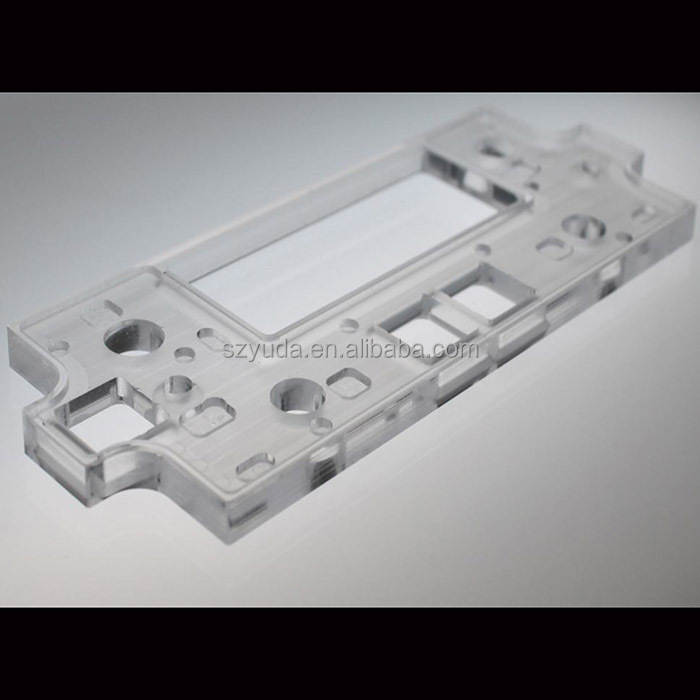 Acrylic Cutting On CNC Routers Electronics Part Plastic Panels Parts Clear Acrylic Front Panels