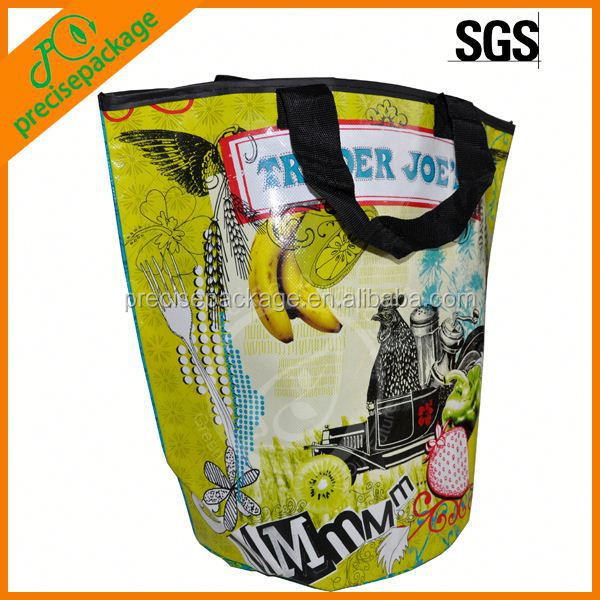 Waterproof laminated non woven packing bag for food promotion