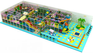 Large amusement park , Indoor playground equipment for kids
