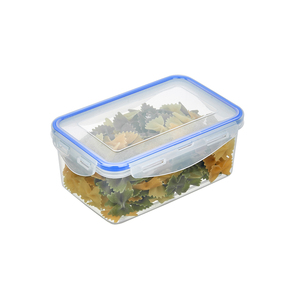 PP Plastic Storage Box Rectangle Airtight Food Container Storage 900ml Hot Lunch Box for School and Office