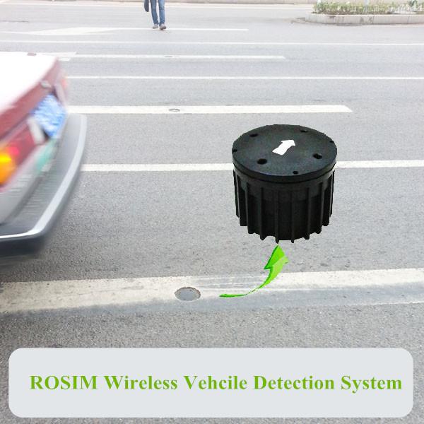 installation de détecteur de boucle de véhicule