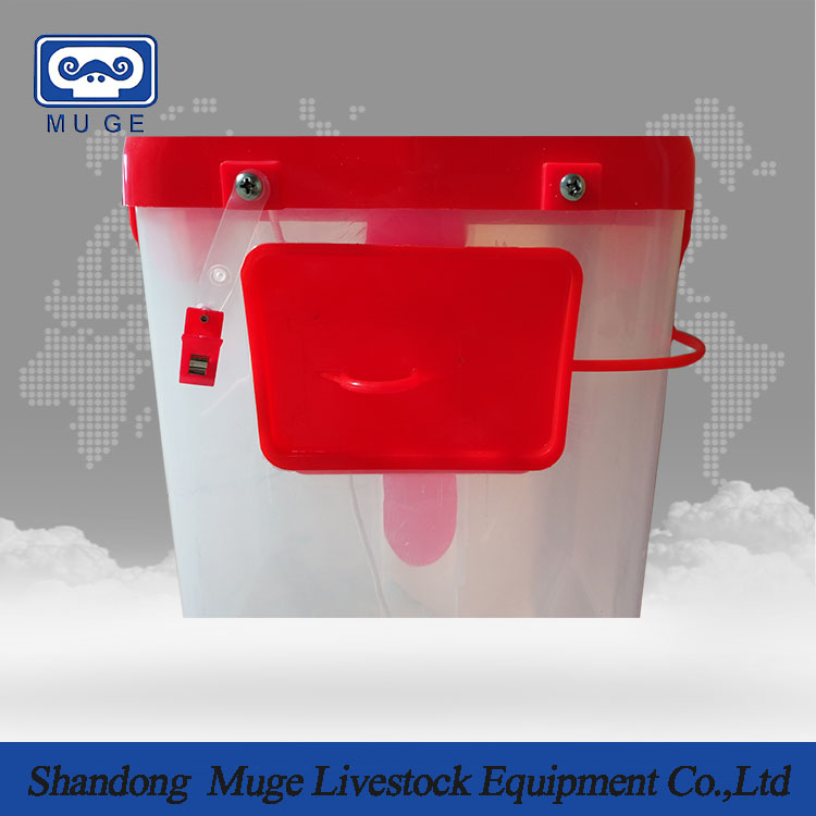 Pig feed dispenser for pig automatic feeding system