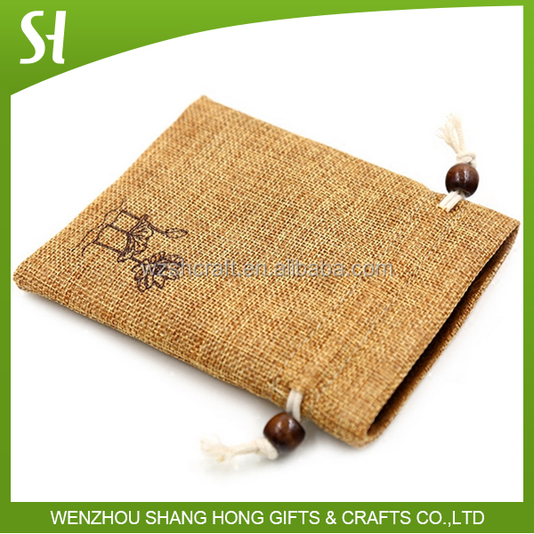 Professional Factory Cheap Wholesale Top Quality laminated jute bag from direct manufacturer