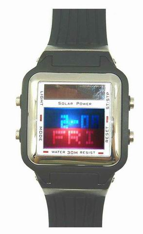 24kupi Watch,Magnifying watch,Square Color Segment Watch