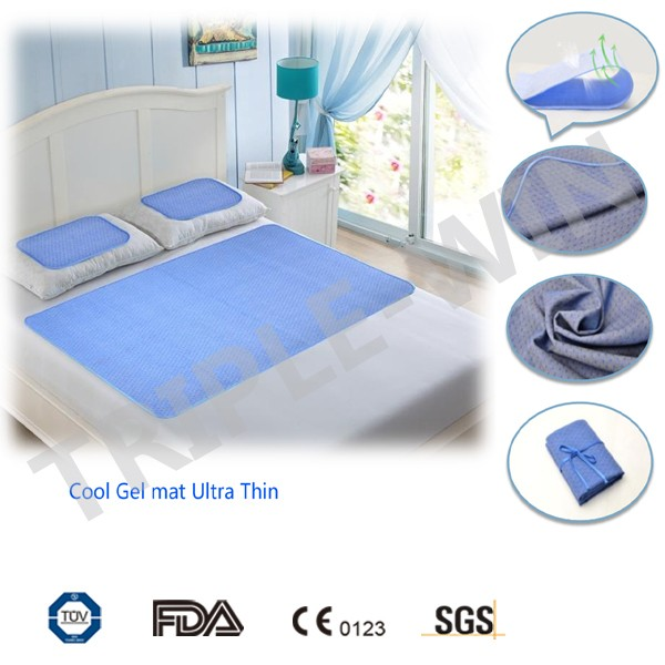 90*140cm New Cooling Material Sleepwell Cool Gel Mattress